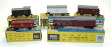 Five Piko HO pieces of DR  Rolling Stock