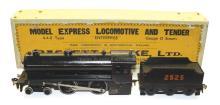 Bassett-Lowke O-gauge live steam 4-4-0 Locomotive & Tender