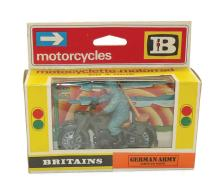Britains German Army Dispatch Motorcycle
