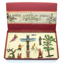 Britains & Timpo diecast Set of North American Indian Figures