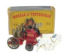 Matchbox Models of Yesteryear Y4 Horse-drawn Fire Engine