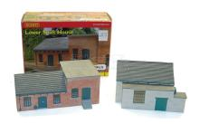 Two Hornby Skaledale OO-gauge cast resin Coal Mine Buildings