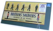 Britains Set of six diecast United Nations Soldiers
