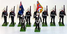 Britains Set of ten Military Figures
