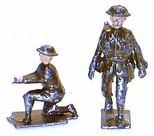 Two diecast Soldiers