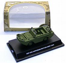 Wemi Models 1:43 scale 1944 Amphibian Vehicle