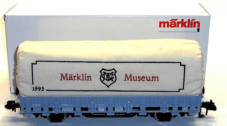 Marklin 1-gauge 85830 4-wheel Covered Wagon