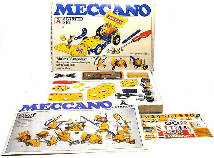 Meccano 'A' Starter Set