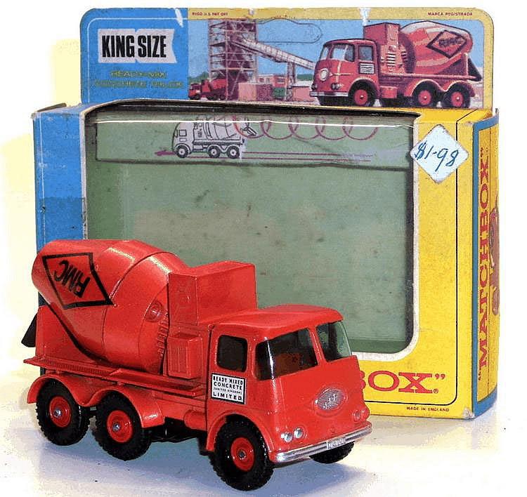 Matchbox K-13 Concrete Mixer Truck