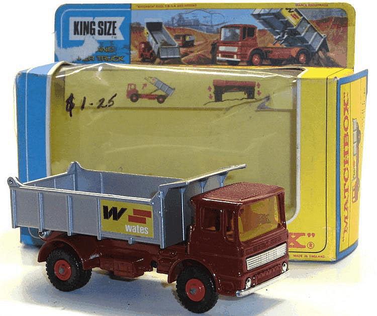 Matchbox K-4 Leyland Tipper Truck