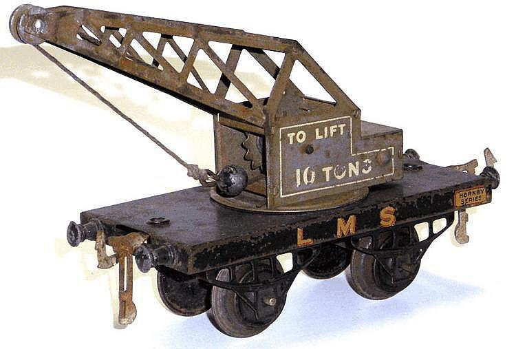Hornby O-gauge No. 1 LMS Crane
