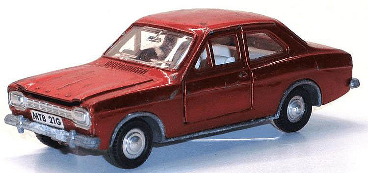 Dinky Ford Escort. Good.