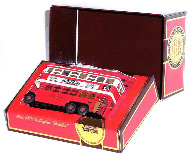 Matchbox Y10 1931 Trolley Bus 'Diddler'