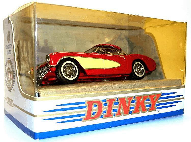 Matchbox 'Dinky' DY-23 1956 Chevrolet Corvette
