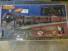 Norfolk & Western 4-8-4J Steam Passenger Train Set