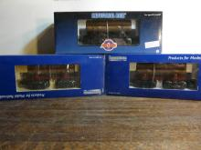 3 Industrial Model Train Cars 1006,8001,8001