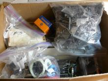 Various Model Train Parts And Track