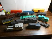 Various O Scale Model Train Cars