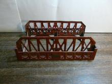 Lionel Red Girder Bridge