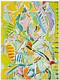 André Lanskoy (1902-1976) Sans titre, 1973 Huile sur toile Signée en haut à droite Contresignée et datée au dos Oil on canvas Signed...