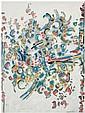 Manuel Cargaleiro (Né en 1927) Sans titre, 1963 Gouache sur papier Datée en bas à gauche et signée en bas à droite Gouache on paper ...