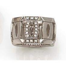 FRANK MULLER Large anneau formé d'une suite de liens entrelacés