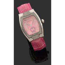 TECHNOMARINE Technosquare A diamond and stainless seel quartz watch by Technomarine.