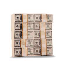Klaus Guingand (né en 1962) In god we trust - $ one million dollars cash, 1999-2003