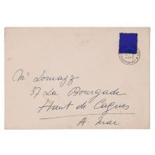 Yves Klein (1928-1962) Timbre bleu, 1959