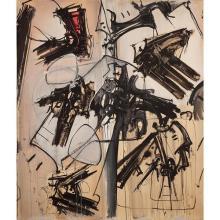 Gianni Bertini (1922-2010) Sans titre, 1957