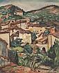 Emile Othon Friesz (1879-1949) Village en Provence