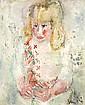 Eugène PAUL dit Gen Paul (1895-1975) Jeune fille