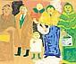 Fikret Moualla (1903-1967) La famille