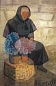 ƒLouis Toffoli (1907-1999) La fleuriste corse