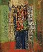 Max Papart (1911-1944) Vase de fleurs Huile sur toile Signée en bas à droite 55 x 46cm
