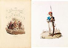 DALVIMART Octavien THE MILITARY COSTUME OF TURKEY Londres, Thomas Mac Lean, 1818