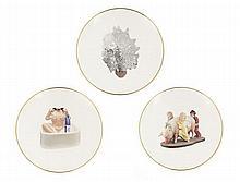 Jeff Koons (né en 1955) Woman in tub, Vase of Flowers and Ushering in Banality (From Banality series), 2013