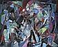 André Lanskoy (1902-1976)  Le soleil brillait encore, 1963 Huile sur toile Signée en bas à droite Titrée et datée au dos 60 x 73 cm ...