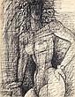 MARCEL GROMAIRE (1892-1971) NU DEBOUT