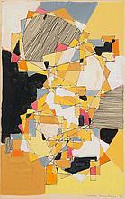 Natalia Dumitresco (1915-1997) Sans titre, 1953