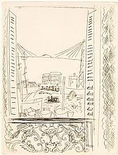 MONTFORT Eugène. La Belle Enfant, ou l'Amour à quarante ans. Paris, Ambroise Vollard, 1930; in-4, maroquin janséniste cerise, doublu...
