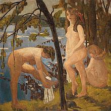Jacqueline Marval (1866-1932) juin1906-1909 Huile sur toile Signée en bas à droite Oil on canvas Signed lower right 157 x 157cm - ...