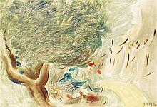 Francisco Bores (1898-1972) Sans titre, 1930 Huile sur toile Signée et datée