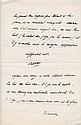Maurice BARRES. 1862-1923. Écrivain, figure du nationalisme. 2 L.A.S. Paris, 1914. 3 pp. in-8 et in-12, en-tête en coins de la Chamb...