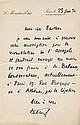 Edouard HERRIOT. 1872-1957. Homme politique du parti radical, président du Conseil, maire de Lyon, académicien. 7 L.A.S., C.A.S et 2...