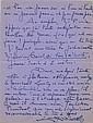 Lucien LEVY-DHURMER. 1865-1953. Peintre décorateur, sculpteur céramiste, proche de Loti. 2 L.A.S. au président Barthou. avril1931 e...