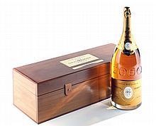 """1 mathusalem CHAMPAGNE """"Cristal"""", Roederer 1990 (cuvée 2000 en coffret)"""