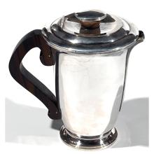RAVINET DENFERT Verseuse en métal argenté