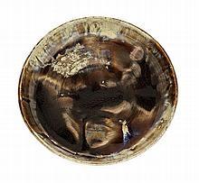 ALEXANDRE BIGOT (1862-1927) Suite de deux coupes en grès