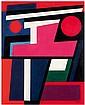 Geneviève Claisse (Née en 1935)  Tornade, 1960 Huile sur toile Datée en bas au milieu et signée en bas à droite Titrée au dos Oil on...